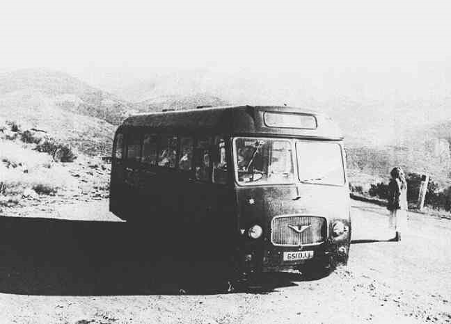 Twink's bus, Edge of the Alps, France, Late 1976 pic:Baron?